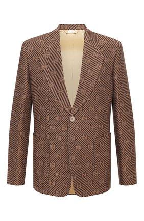 Пиджак из хлопка и шелка | Фото №1