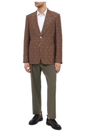Пиджак из хлопка и шелка | Фото №2
