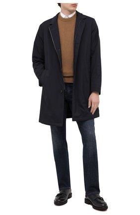 Мужские кожаные монки H`D`S`N BARACCO темно-синего цвета, арт. 80214.L.1* | Фото 2
