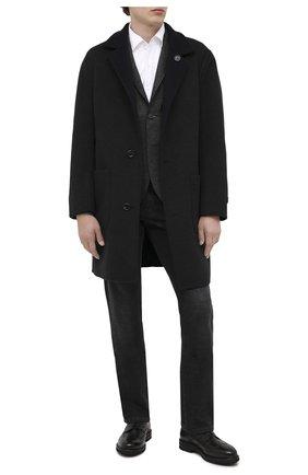 Мужской кожаные дерби H`D`S`N BARACCO черного цвета, арт. 80216.L.1* | Фото 2