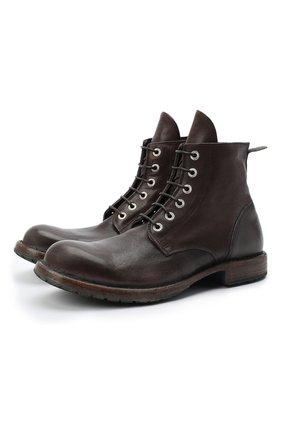 Мужские кожаные ботинки MOMA коричневого цвета, арт. 2CW007-CU | Фото 1
