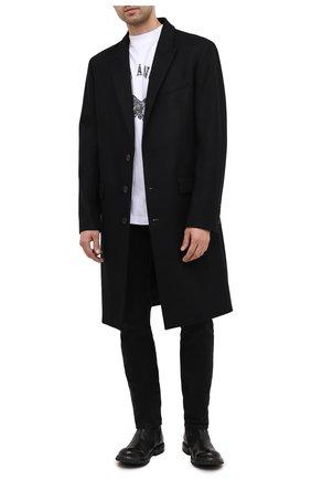 Мужские кожаные сапоги MOMA черного цвета, арт. 2CW080-CUBECU | Фото 2