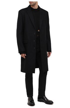 Мужские кожаные оксфорды PREMIATA черного цвета, арт. PREMIATA 446/REAL | Фото 2 (Материал внутренний: Натуральная кожа; Стили: Классический)