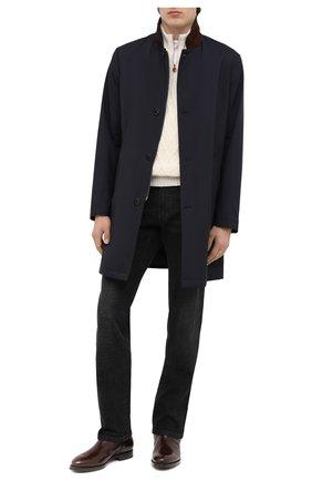 Мужские кожаные сапоги W.GIBBS темно-коричневого цвета, арт. 8378133/0238 | Фото 2