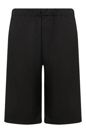 Мужские хлопковые шорты BALENCIAGA черного цвета, арт. 626579/TIM39 | Фото 1