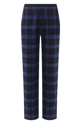 Мужской хлопковые брюки BALENCIAGA темно-синего цвета, арт. 608972/TIM19 | Фото 1