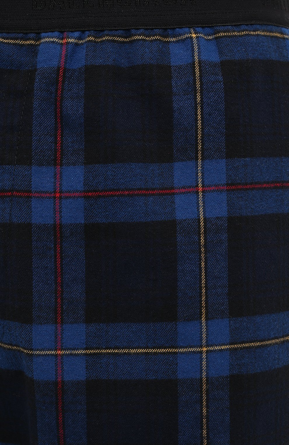 Мужские хлопковые брюки BALENCIAGA темно-синего цвета, арт. 608972/TIM19 | Фото 6