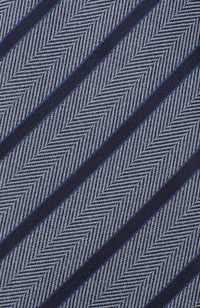 Мужской шелковый галстук ERMENEGILDO ZEGNA голубого цвета, арт. Z8D34/1UM | Фото 3