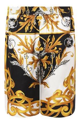 Мужские шелковые шорты VERSACE разноцветного цвета, арт. A86432/A235781 | Фото 1