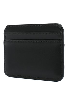 Женский кожаный футляр для кредитных карт CHLOÉ черного цвета, арт. CHC19UP085A37 | Фото 2