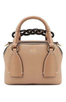 Женская сумка daria CHLOÉ бежевого цвета, арт. CHC20US361C62   Фото 1