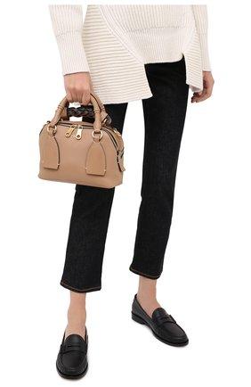 Женская сумка daria CHLOÉ бежевого цвета, арт. CHC20US361C62   Фото 2