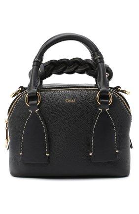 Женская сумка daria CHLOÉ темно-синего цвета, арт. CHC20US361C62   Фото 1