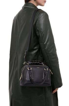 Женская сумка daria CHLOÉ темно-синего цвета, арт. CHC20US361C62   Фото 2