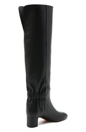 Женские кожаные сапоги SANTONI черного цвета, арт. WSNC58798HI2NLY0N01 | Фото 4