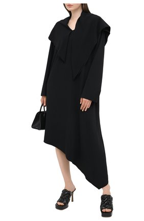 Женское платье MM6 черного цвета, арт. S32CU0167/S37977 | Фото 2