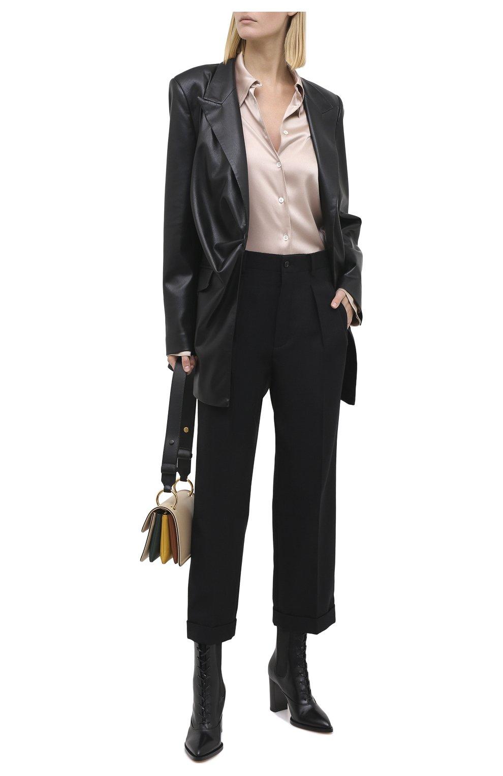 Женские кожаные ботильоны dresda GIANVITO ROSSI черного цвета, арт. G73478.85CU0.VITNER0 | Фото 2