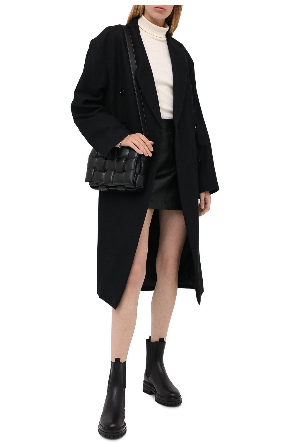 Женские кожаные челси martis GIANVITO ROSSI черного цвета, арт. G73465.20G0M.CLYNENE | Фото 2