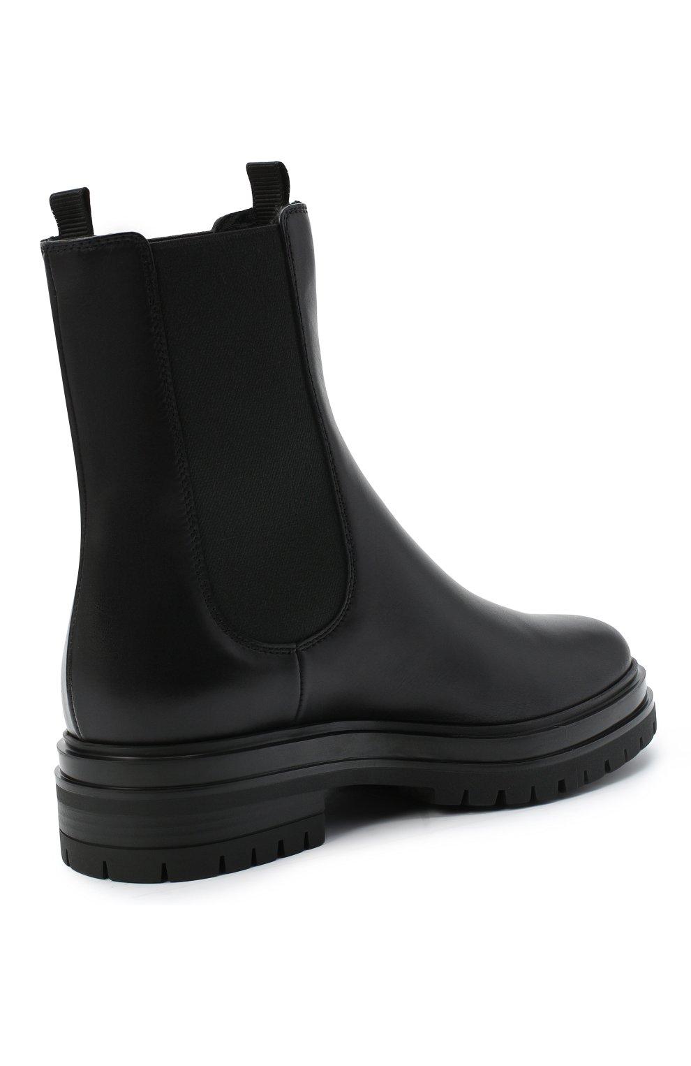 Женские кожаные челси martis GIANVITO ROSSI черного цвета, арт. G73465.20G0M.CLYNENE | Фото 4