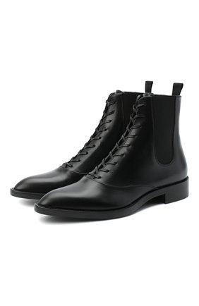 Женские кожаные ботинки dresda GIANVITO ROSSI черного цвета, арт. G73419.20CU0.VITNER0 | Фото 1