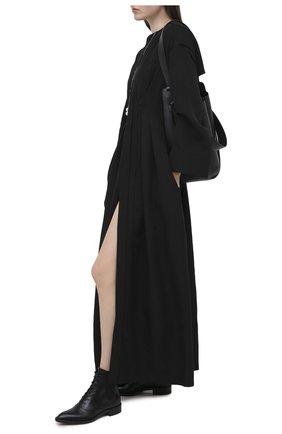 Женские кожаные ботинки dresda GIANVITO ROSSI черного цвета, арт. G73419.20CU0.VITNER0 | Фото 2