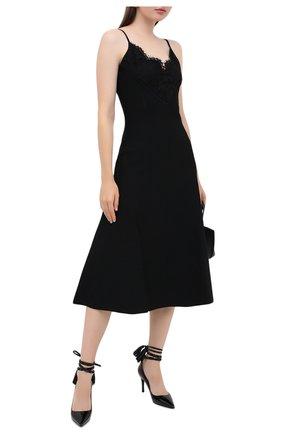 Женская кожаные туфли valentino garavani rockstud VALENTINO черного цвета, арт. UW2S0Z08/IXH | Фото 2