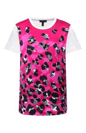 Женская хлопковая футболка ESCADA фуксия цвета, арт. 5033449 | Фото 1