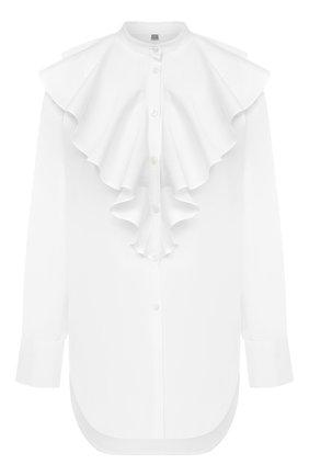 Женская хлопковая блузка TOTÊME белого цвета, арт. CABRERA 203-754-710 | Фото 1
