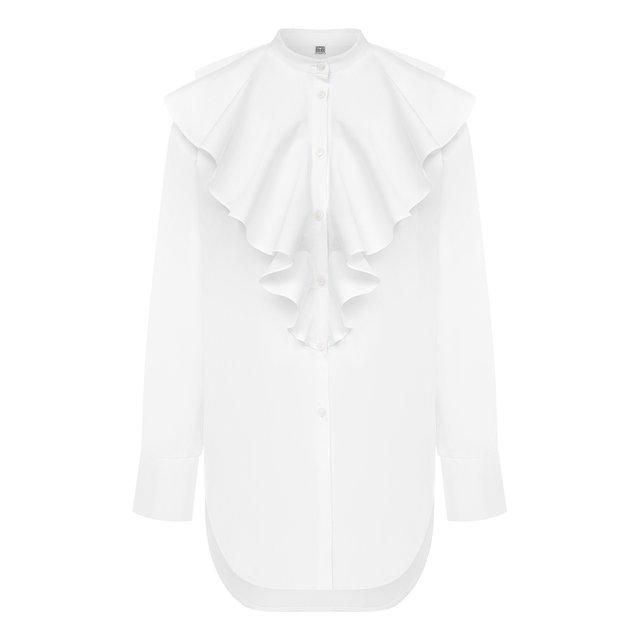 Хлопковая блузка Totême