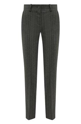 Женские кашемировые брюки LORO PIANA серого цвета, арт. FAI8499 | Фото 1