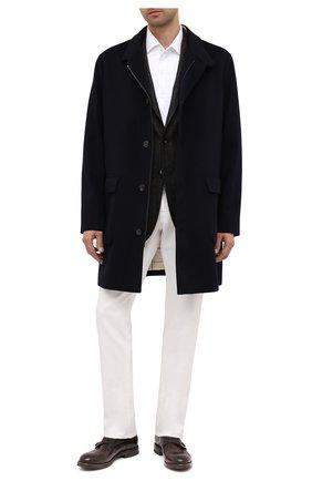 Мужские кожаные монки W.GIBBS темно-коричневого цвета, арт. 0220004/2260 | Фото 2