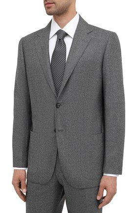 Мужской шерстяной костюм KITON темно-серого цвета, арт. UA81K01T52   Фото 2