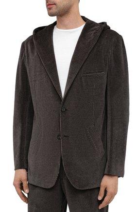 Мужской костюм KNT коричневого цвета, арт. UAS0104K01T28 | Фото 2