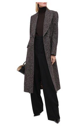 Женское шерстяное пальто DOLCE & GABBANA разноцветного цвета, арт. F0Y52T/FMMFV | Фото 2