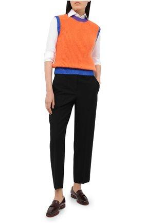 Женский шерстяной жилет VALENTINO оранжевого цвета, арт. UB3KC16T5RH | Фото 2