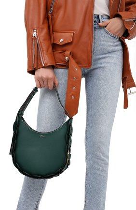 Женская сумка darryl CHLOÉ зеленого цвета, арт. CHC20US342C61   Фото 2