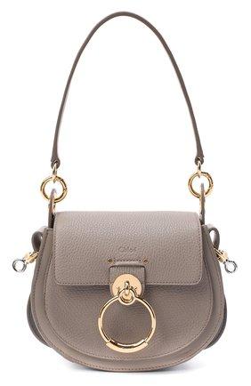 Женская сумка tess small CHLOÉ серого цвета, арт. CHC19WS153944   Фото 1