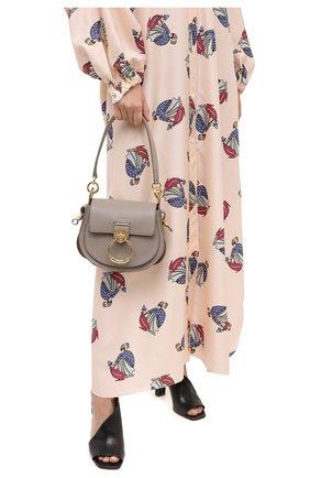 Женская сумка tess small CHLOÉ серого цвета, арт. CHC19WS153944   Фото 2