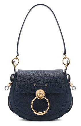 Женская сумка tess small CHLOÉ синего цвета, арт. CHC19WS153944   Фото 1