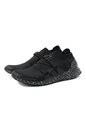 Мужские текстильные кроссовки adidas x hyke ultraboost ah-001 ADIDAS черного цвета, арт. FW2587 | Фото 1
