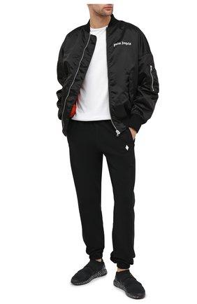 Мужские текстильные кроссовки adidas x hyke ultraboost ah-001 ADIDAS черного цвета, арт. FW2587 | Фото 2