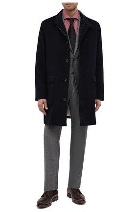 Мужской кожаные дерби H`D`S`N BARACCO темно-коричневого цвета, арт. 80213.M.1* | Фото 2