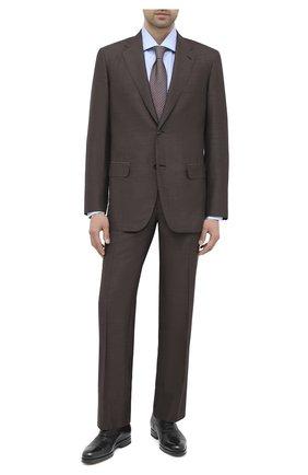 Мужские кожаные оксфорды SANTONI черного цвета, арт. MCAZ16503SI5EKYBN01 | Фото 2
