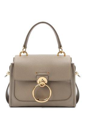 Женская сумка tess day mini CHLOÉ серого цвета, арт. CHC20AS143C62   Фото 1