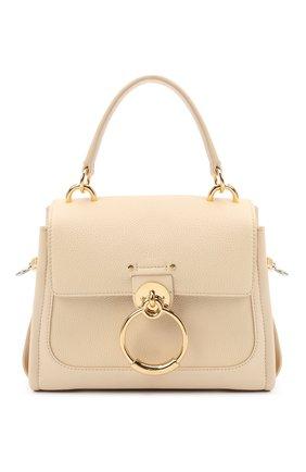 Женская сумка tess day mini CHLOÉ бежевого цвета, арт. CHC20AS143C62   Фото 1