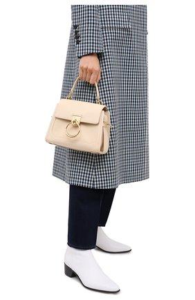 Женская сумка tess day mini CHLOÉ бежевого цвета, арт. CHC20AS143C62   Фото 2