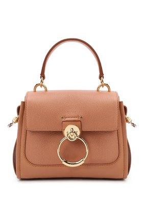 Женская сумка tess day mini CHLOÉ коричневого цвета, арт. CHC20AS143C62   Фото 1