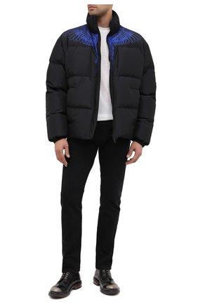 Мужской кожаные дерби MOMA темно-серого цвета, арт. 2AW146-NE | Фото 2