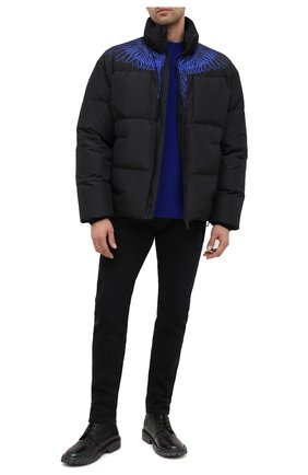 Мужские кожаные ботинки MOMA черного цвета, арт. 2CW103-BT | Фото 2