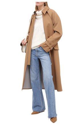 Женский свитер из шерсти и вискозы ESCADA белого цвета, арт. 5033416 | Фото 2